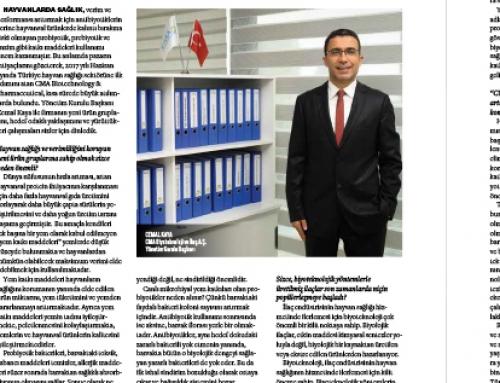 Infovet Dergi: Haziran Röportaj